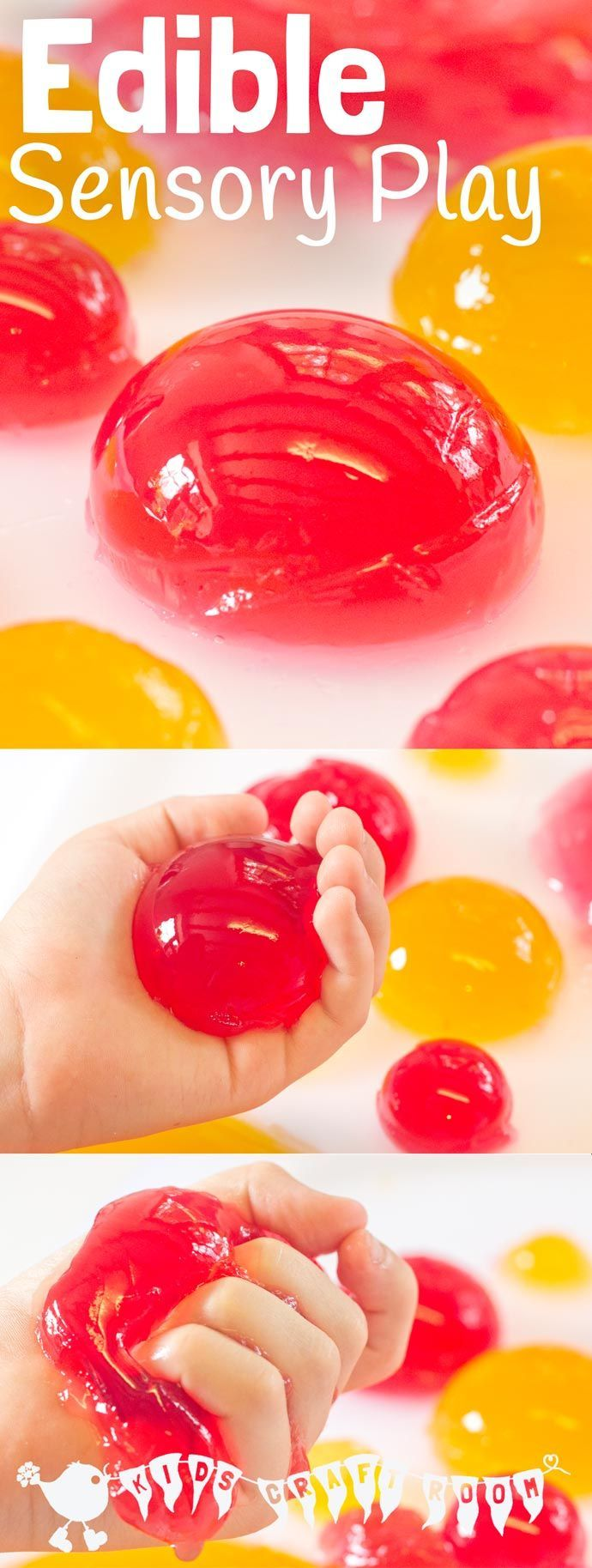 EDIBLE SENSORY PLAY BALLS ACTIVITY - a truly multi sensory play experience. Kids…