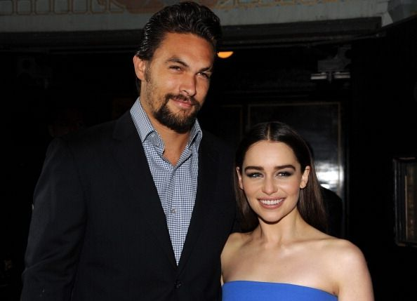 Emilia Clarke Back In Jason Momoa's Arms, Former 'Game Of Thrones ...