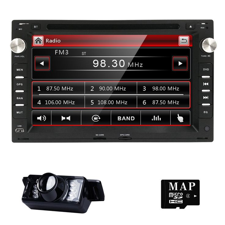 "2DIN 7"" Capacitive touch screen Car DVD Video Player For Volkswagen VW Jetta Polo Bora Golf 4 Passat B5 Radio TV 3G"