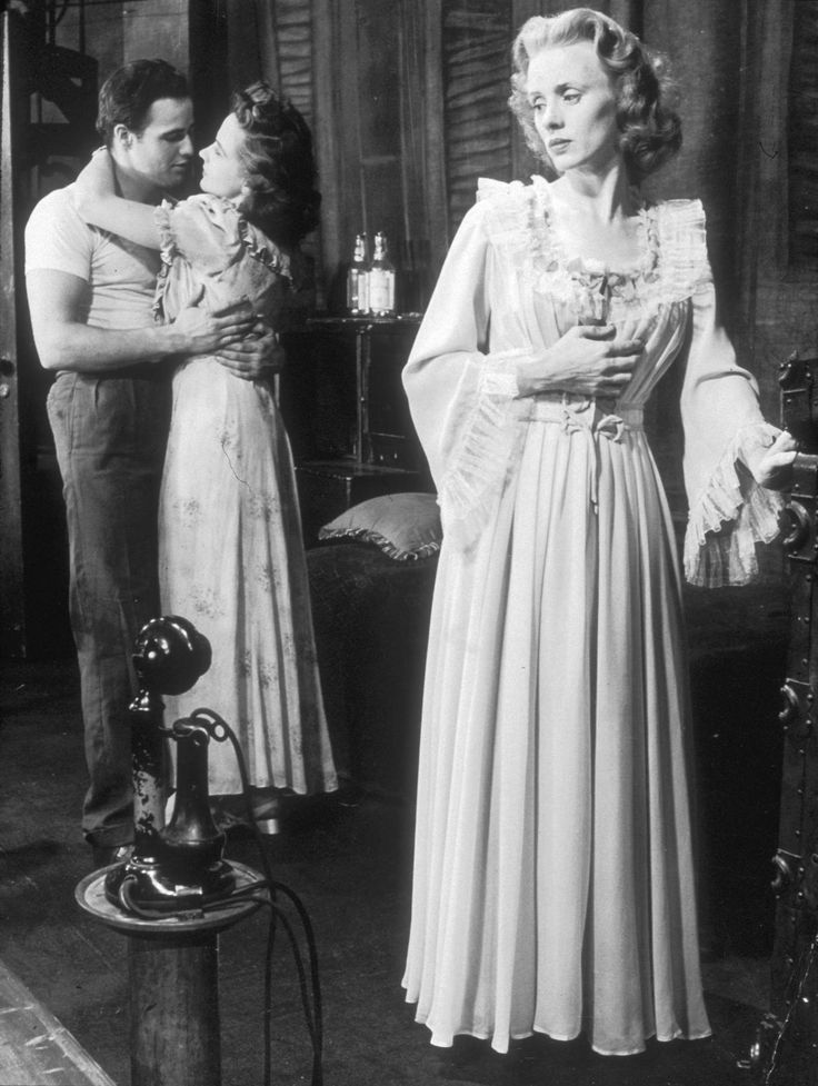 "Jessica Tandy as the original Blanche du Bois in ""A Streetcar Named Desire""."