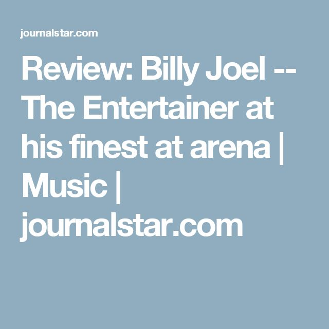 17 best ideas about Billy Joel Music on Pinterest | Piano man song ...