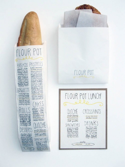 Flourpot Bakery Packaging