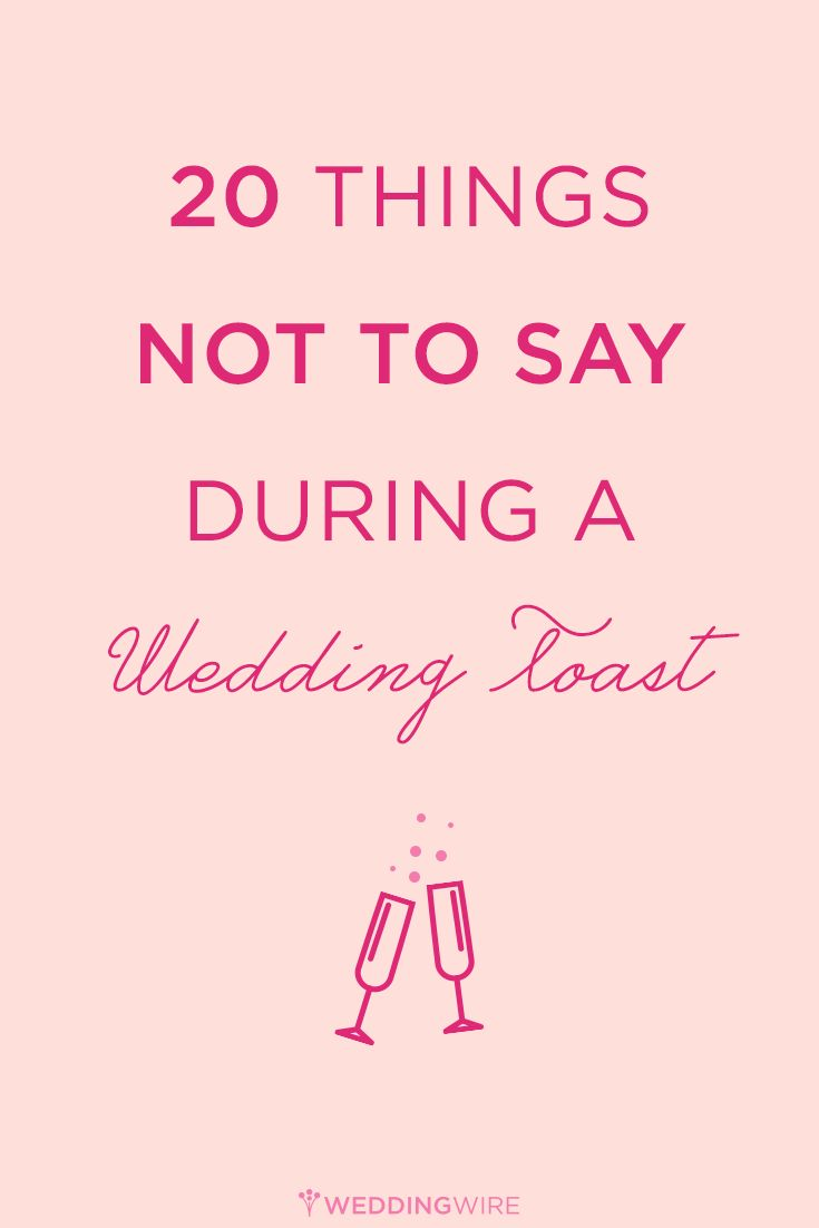 Remember This Is A Toast Not Roast Here Are 20 Things NOT Bridesmaid EtiquetteWedding ToastsSister Wedding SpeechesRoastsPink