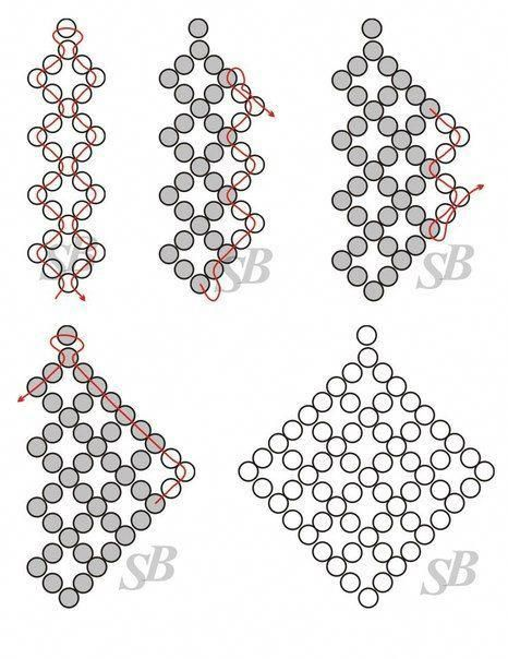 free seed bead patterns and instructions #