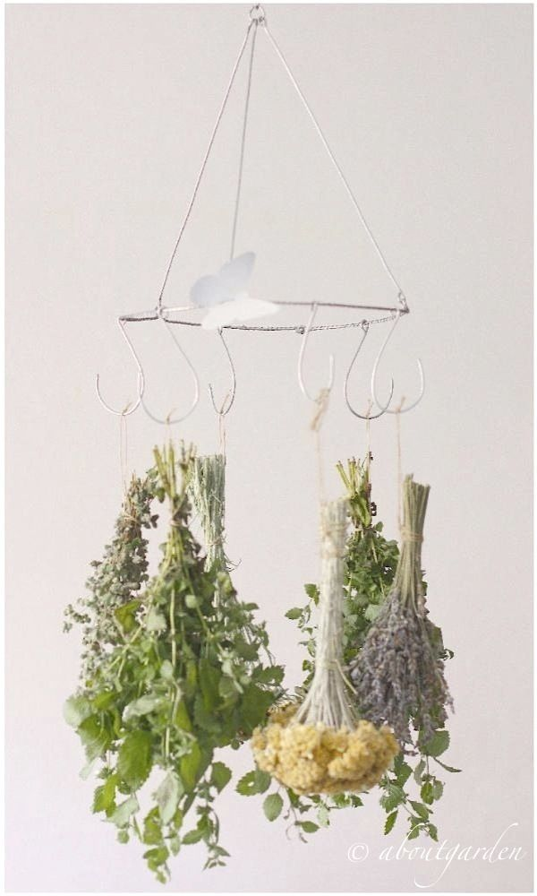 DIY: for drying herbs