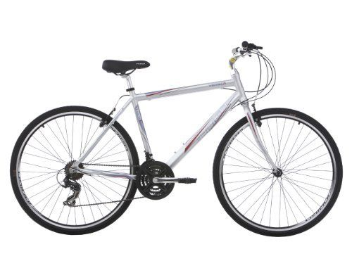 On line Indigo Men's Verso 1 Hybrid Bike – Silver, 20 Inch Special Offer | The Best UK Bicycle Online Store