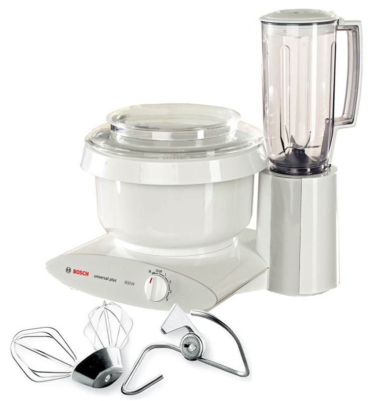 Bosch Universal Mixer Plus with Blender Top Performance