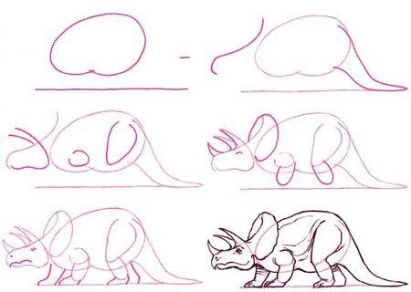 Dibujar dinosaurio