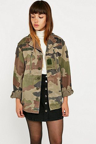 Urban Renewal Vintage Surplus F2 Camo Jacket - Urban Outfitters