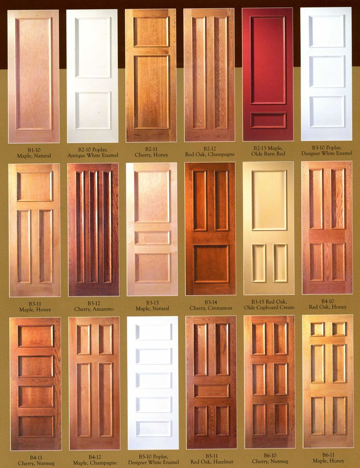 A Plus Windows in our show room has 3 Woodharbor doors on display, a set of cross sections, and 30 finished wood samples.