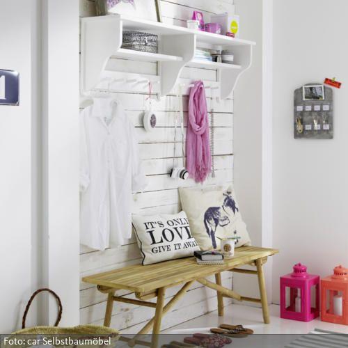 57 best Wohnen Garderobe images on Pinterest Small spaces - diy garderobe