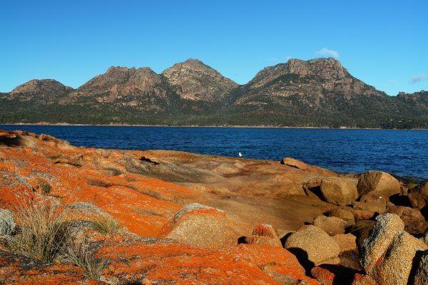 Freycinet National Park on the East Coast of Tasmania. Photo by Dan Fellow for www.think-tasmania.com
