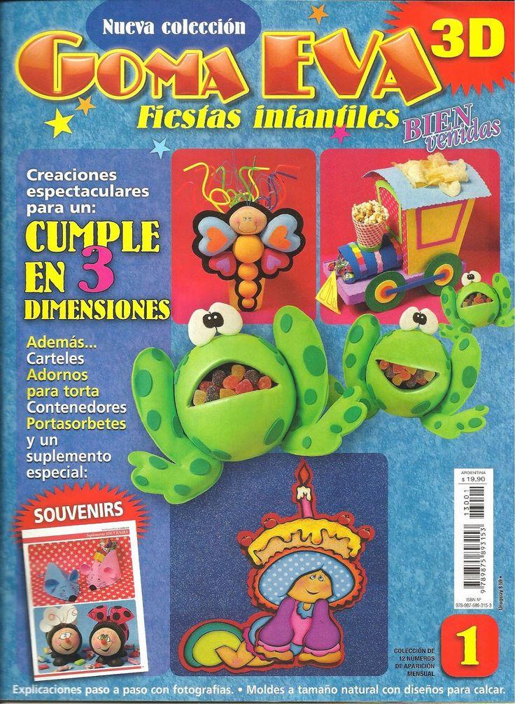 Revistas de manualidades Gratis: Manualidades para fiestas infantiles