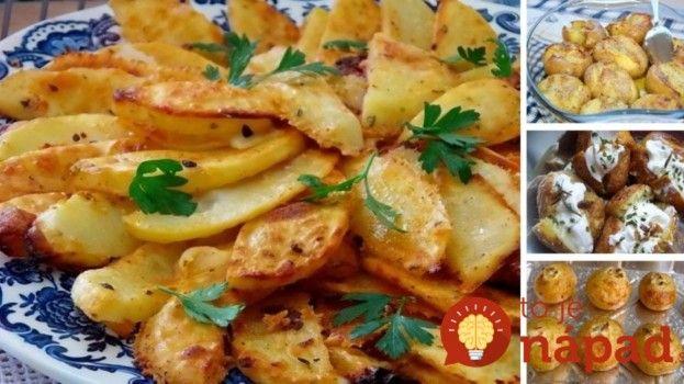 15 najlepších príloh zo zemiakov: Oplatí sa vyskúšať každú jednu!