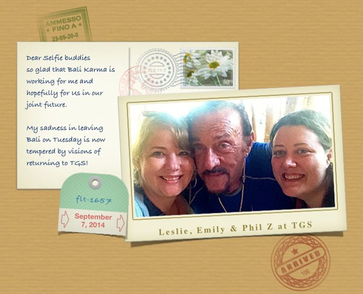Prof. Zimbardo visited our school and send a sweet note after his visit.