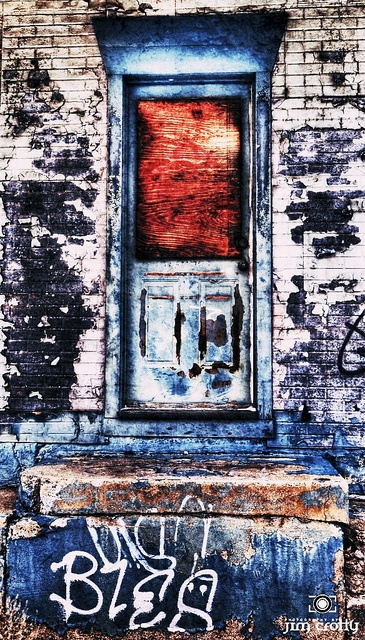 What Remains, The art of urban decay in Dayton, Ohio by Jim Crotty