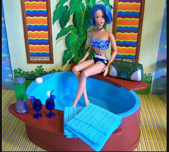 33 Best Images About Barbie Swimming Pools On Pinterest