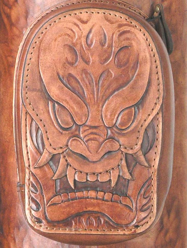 Best leather carvings embossings images on pinterest