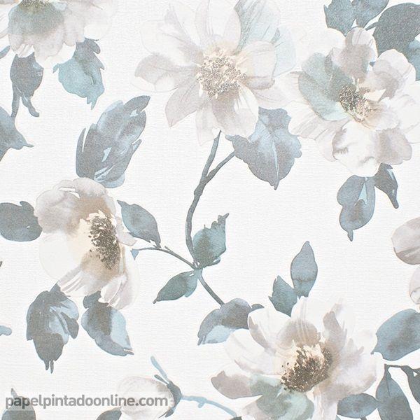 1000 images about papel pintado flores en oferta on for Papel pintado oferta