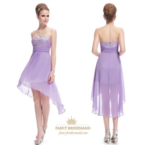 Short Lilac Bridesmaid Dresses I love this dress!