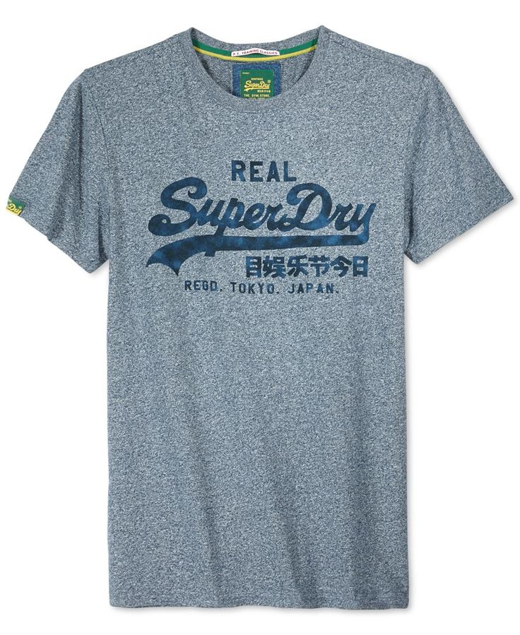 Superdry Classic Vintage Logo T-Shirt - T-Shirts - Men - Macy's