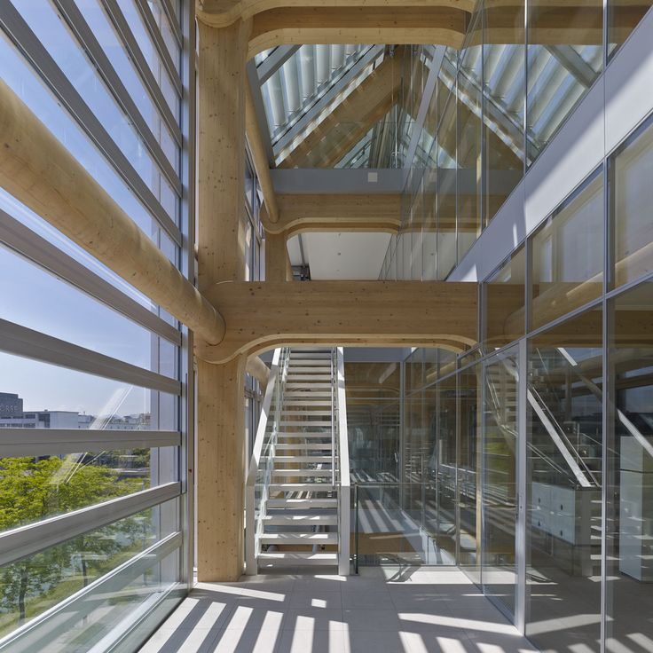 Gallery of Tamedia Office Building / Shigeru Ban Architects - 13