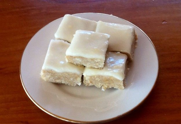 Lemon Coconut Squares - Real Recipes from Mums