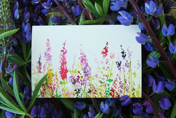 Greeting card postcard Birthday card drawing by mydesignpictures