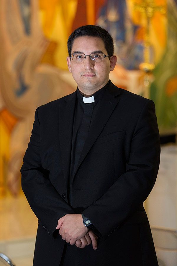 CS PHOTO BY JACLYN LIPPELMANN Jonathan Vanegas will be ordained by Cardinal Wuerl as a new priest of the Archdiocese of Washington on June 25.
