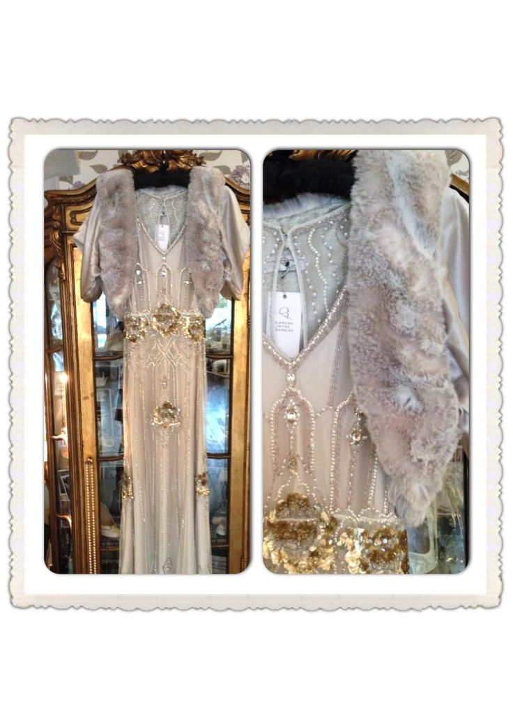 Our exclusive Apollonia in Opal by @BlancheBrambles with Eden by @TheJennyPackham - the perfect winter bridal look! X