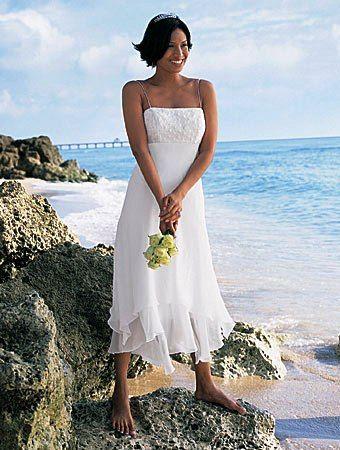 Short+Beach+Wedding+Dresses | Short wedding dresses, wedding gowns, beach wedding dresses.