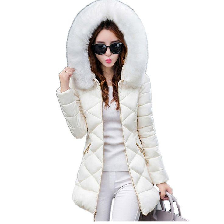 31.59$  Watch here - https://alitems.com/g/1e8d114494b01f4c715516525dc3e8/?i=5&ulp=https%3A%2F%2Fwww.aliexpress.com%2Fitem%2FWomens-Winter-Jackets-And-Coats-2016-Women-s-Parkas-Thick-Warm-Faux-Fur-Collar-Hooded-Anorak%2F32768032354.html - Womens Winter Jackets And Coats 2016 Women's Parkas Thick Warm Faux Fur Collar Hooded Anorak Ladies Jacket Female Manteau Femme 31.59$