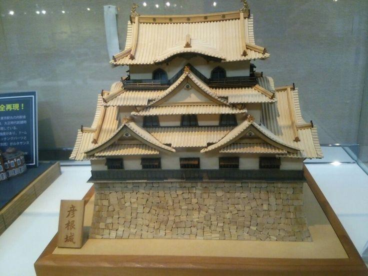 Hikone castle.