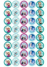Descargables gratis para preparar un candy bar Frozen ¡Entra y descarga estos imprimibles Frozen!