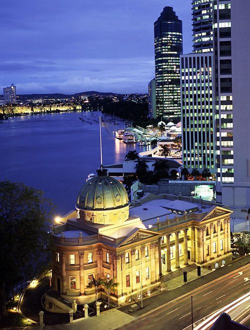 Customs House - a cultural, educational and heritage facility of the University of Queensland
