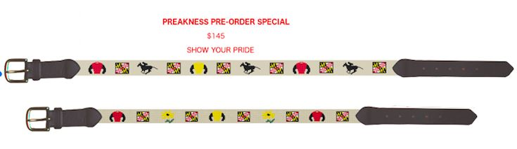 our newest editions PREAKNESS STAKES