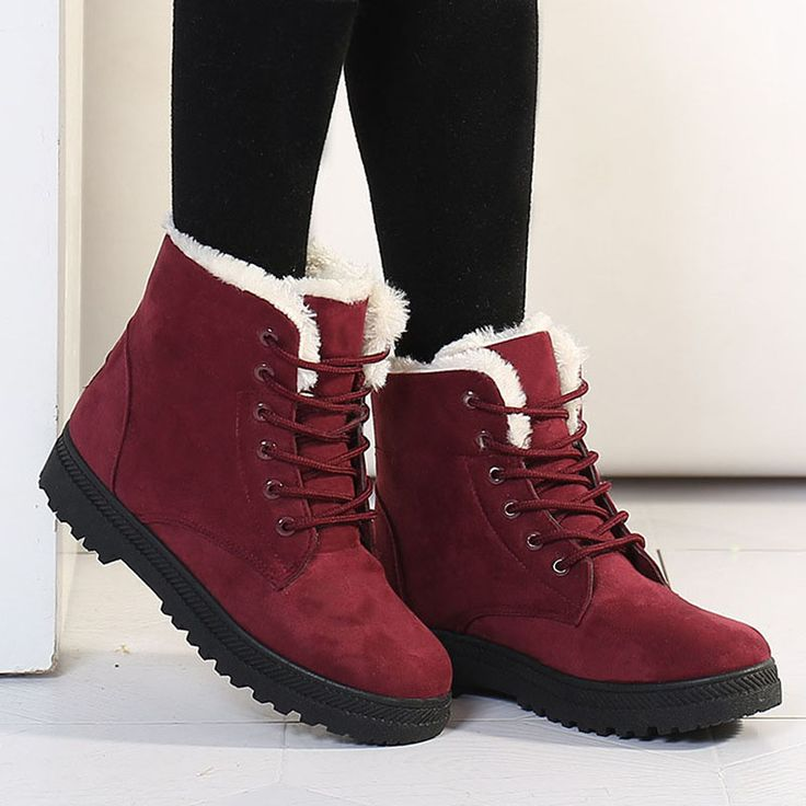Cheap shoes professional, Buy Quality boots red wing shoes directly from China shoes seniors Suppliers: women boots winter boots shoes for women footwear snow boots zapatos mujer red blue black                  Dif