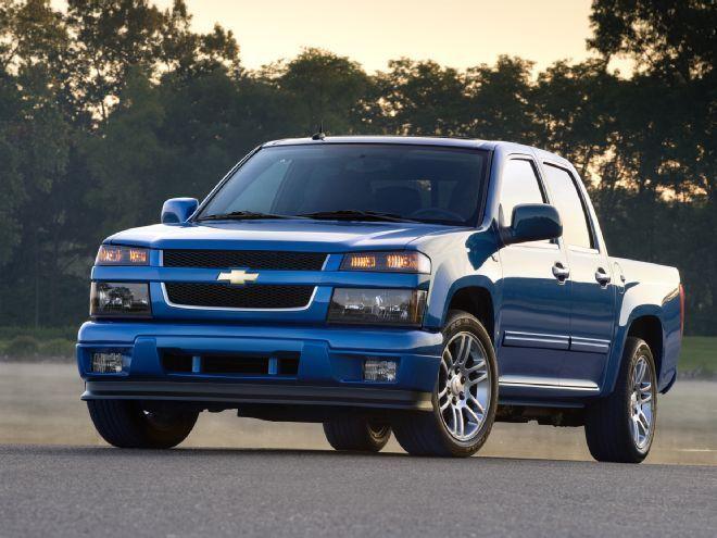 Chevrolet Colorado 2007-2012 Service Manual