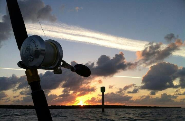 Saltwater fishing...Love this picture!