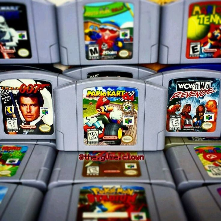 On instagram by the.gvme.clown #retrogames #microhobbit (o) http://ift.tt/1TFKGGl was tagged a couple of weeks ago by @bobgetsbored to show off my top 3 most played N64 games!! Mario Kart is for sure number 1 and is still something that I play almost weekly! It's a toss up on what was played more between the other 2 games. But I definitely prefer Golden Eye over Revenge! Thanks for the tag dude; it was a lot of fun thinking about this one :) #RetroCollective #RetroCollectiveCanada…