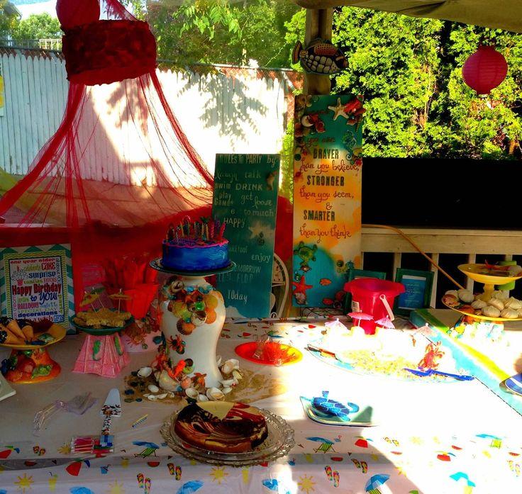 Beach Party Decorations Diy: Diy Beach Party Decor On A Budget.