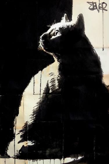 "Saatchi Art Artist LOUI JOVER; Drawing, ""tom"" #art"