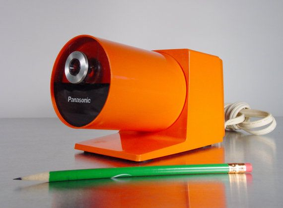 Mid century Panasonic Electric Pencil Sharpener by ClubModerne