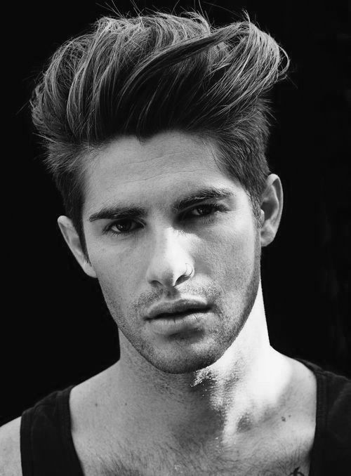 Macho Moda - Blog de Moda Masculina: Penteado Masculino: Dicas de Modeladores para Penteados Médios