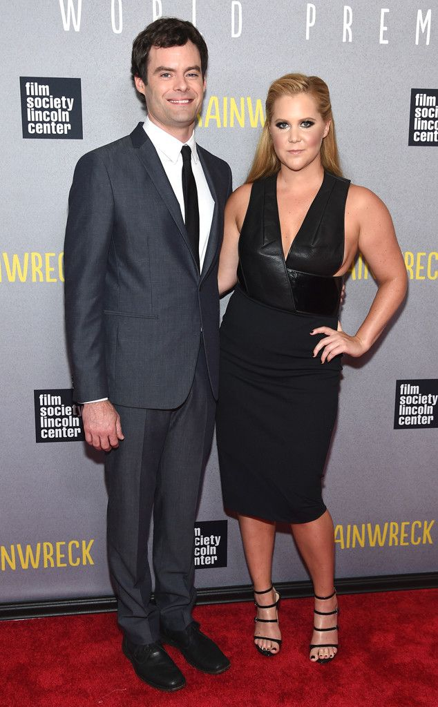 Bill Hader & Amy Schumer from The Big Picture: Today's Hot Pics  The Trainwreck co-stars are looking pretty classy at the NYC premiere of the Judd Apatow comedy.