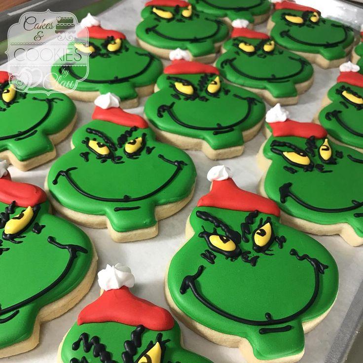 #grinchcookies