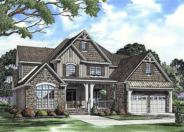 english country style house plans 2755 square foot home 2 story 4 bedroom and 3 bath 2 garage stalls by monster house plans plan love this - French Country Ranch House Plans
