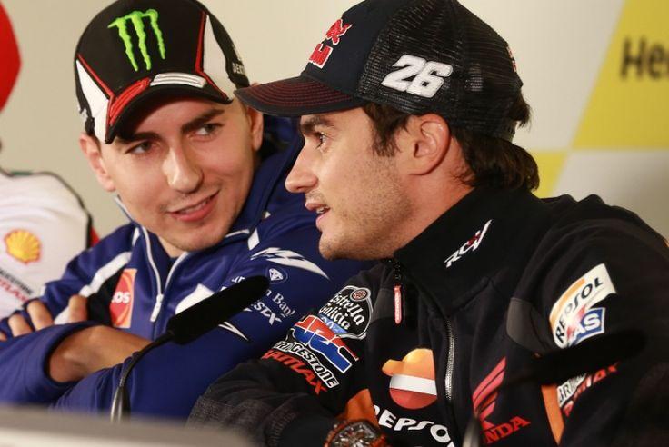 Lorenzo and Pedrosa, British MotoGP 2014