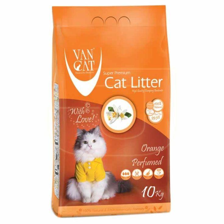 Portakal kokulu kedi kumları ile hem kediler mutlu hem sahipleri!