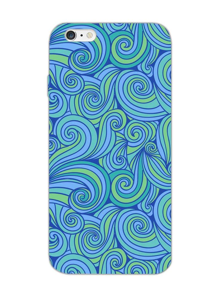 Abstract Waves - Designer Mobile Phone Case Cover for iPhone 6